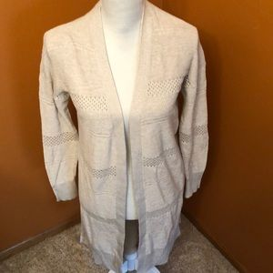 Universal thread oatmeal color sweater.  New.